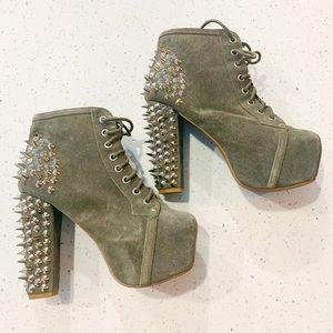 Jeffrey Campbell Spiked Lita platform Shoe